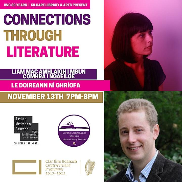Liam Mac Amhlaigh in Conversation with Doireann Ní Ghríofa image