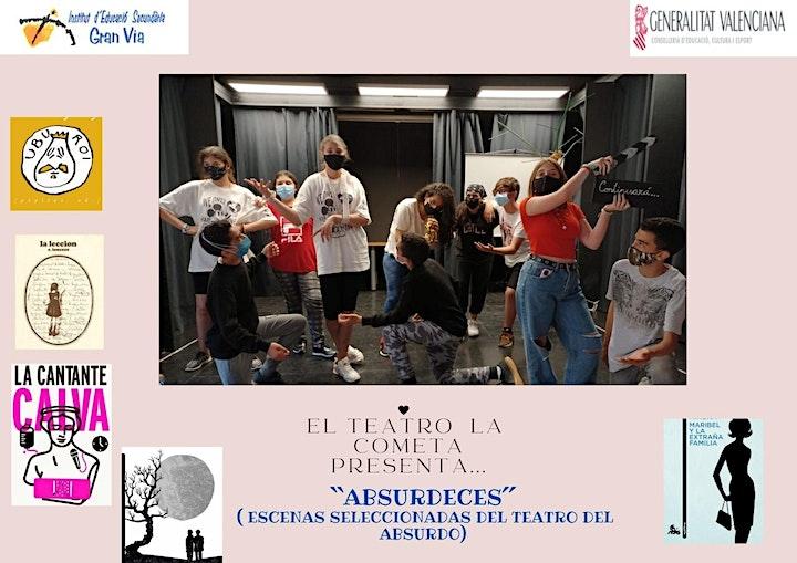 Imagen de La Cometa Teatro IES Gran Vía ABSURDECES(MENUTSBARRIS)Teatro del Absurdo