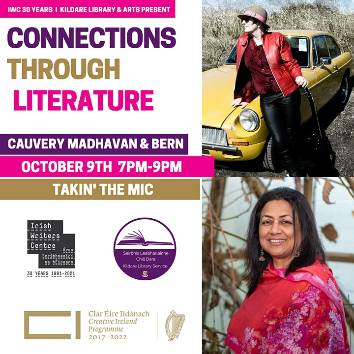 Takin' The Mic For Kildare Readers Festival with Cauvery Madhavan & BeRn image