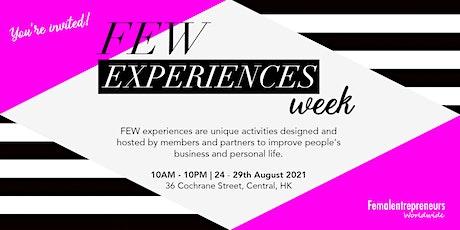 FEW Experience Week tickets