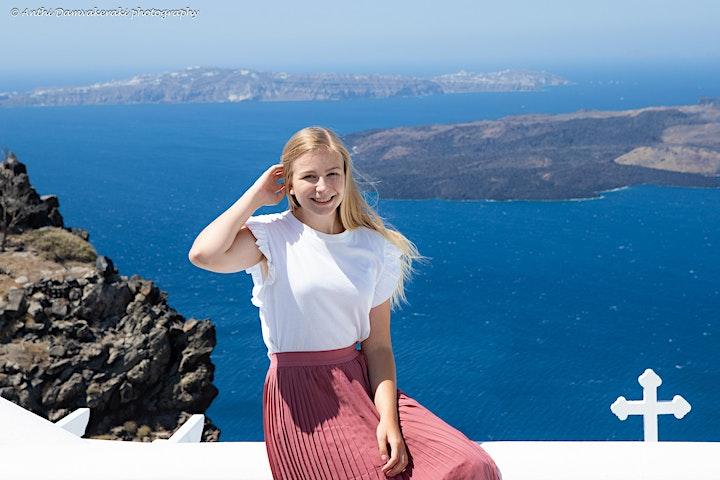 Photo Session in Santorini Caldera View image