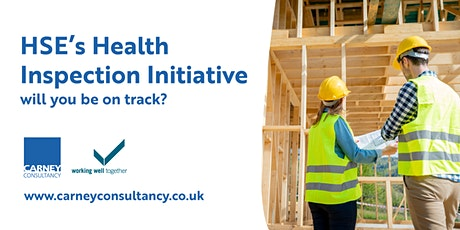 HSE's Health Inspection Initiative – will you be on track? tickets
