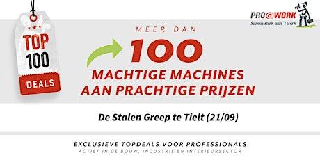 TOP-100 Event - De Nieuwe Gouden Spade (22/09) billets