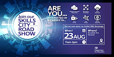 Skills City Roadshow at Rochdale Fire Museum tickets