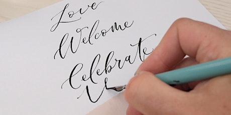 Beginner Pointed Nib Calligraphy tickets