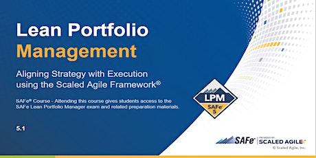 Lean Portfolio Management (5.1) tickets
