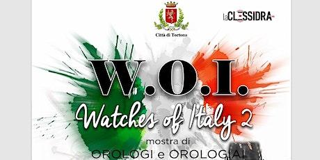 Watches of Italy Tortona 2021 biglietti