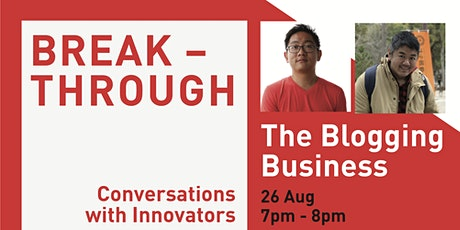 The Blogging Business | Breakthrough tickets
