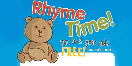 Rhyme Time @ Warwick Library (Limited Numbers) tickets