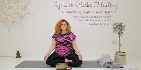 Yin & Reiki Healing Workshop tickets