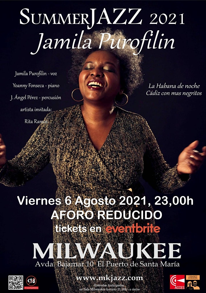 Imagen de Jamila Purofilin en Summer Jazz