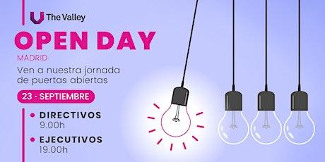 Open Day - Jornada de puertas abiertas - The Valley Madrid entradas
