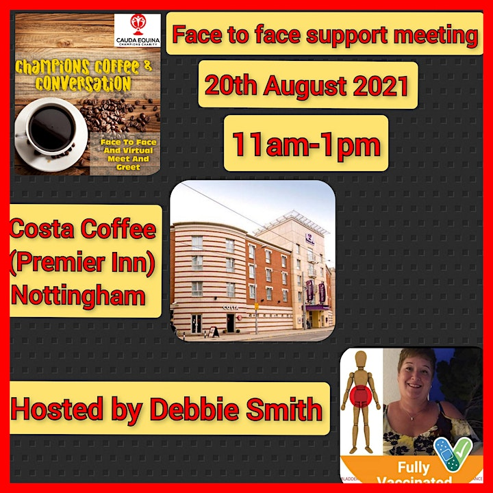 Cauda Equina Champions Charity Support Group Meeting- Nottingham image