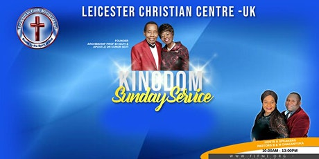 Leicester Christian Centre- Sunday Service tickets