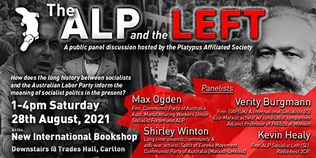 Panel Discussion: The Australian Labor Party and the Left tickets