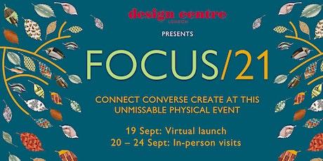 Focus/21 - Conversations In Design tickets