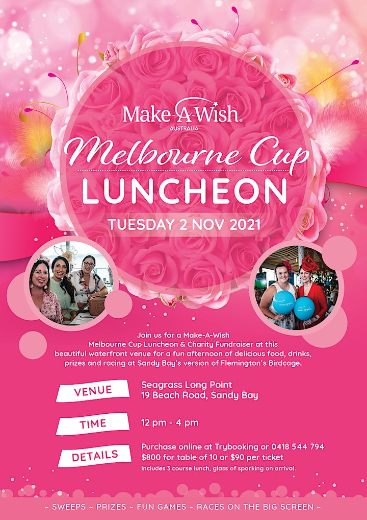 Make-A-Wish Melbourne Cup Luncheon image