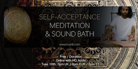 Rounik's Solar Plexus Chakra Sound Bath & Meditation tickets