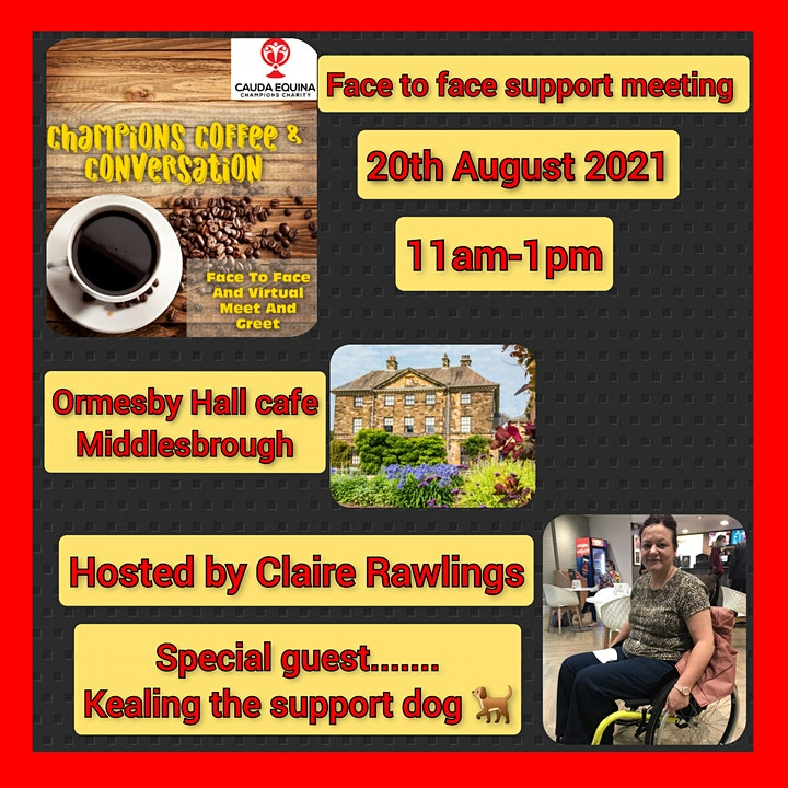 Cauda Equina Champions Support Group Meeting- Middlesbrough image