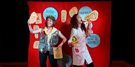 Tolon Tell On  ESTAMPIDA (MENUTSBARRIS) Teatro infantil entradas