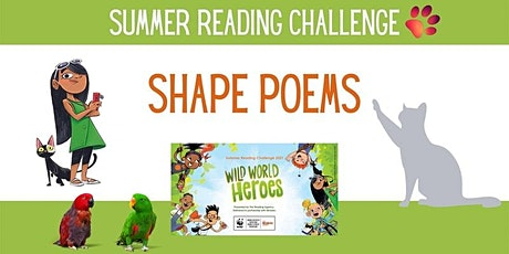 Summer Reading Challenge - Shape Poems 10am @ Shipston Library tickets