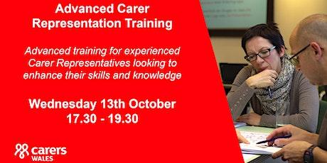Advanced Carer Representation Training tickets