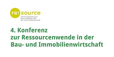 4. Jahreskonferenz der re!source Stiftung e.V. Tickets