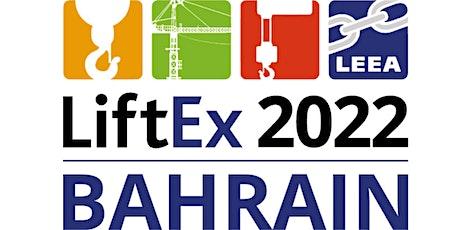 LiftEx 2022 Bahrain tickets