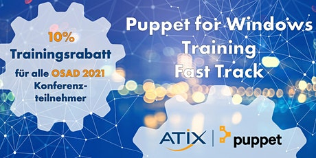 Puppet for Windows Training - Fast Track tickets
