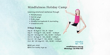 Sept and Oct Holiday Camp tickets