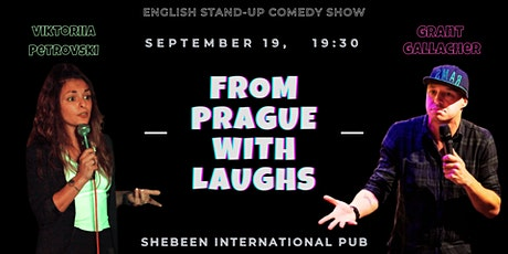 From Prague with Laughs - English Comedy Show tickets