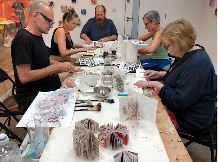 Festival of Natural Fibres: Mark Making and Art Books image