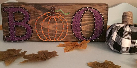Fall String Art Workshop tickets