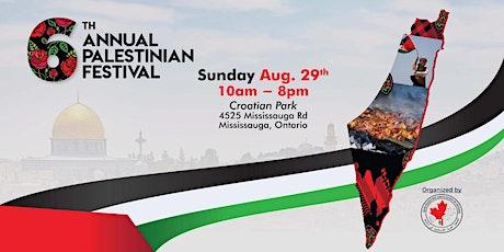 6th Annual Palestinian Festival tickets