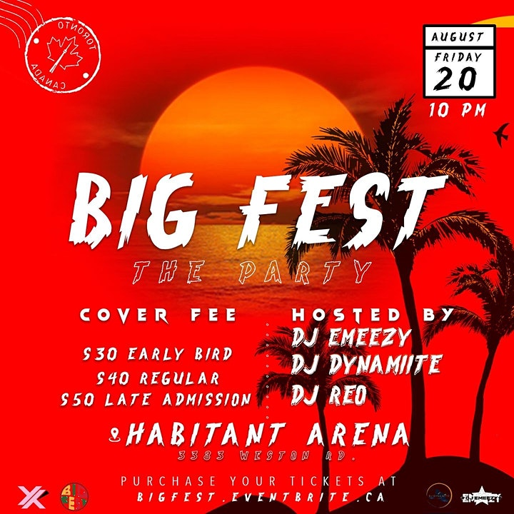 B.I.G Fest Pop Up & After Party image