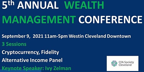 5th Annual CFA Society Cleveland Wealth Management Conference tickets