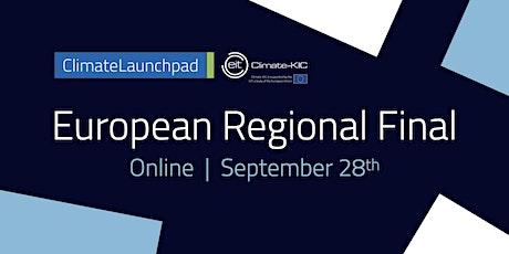 ClimateLaunchpad EUROPEAN FINAL 2021 tickets
