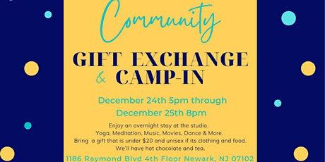Community Gift Exchange and Camp-in tickets