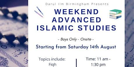 Weekend Advanced Islamic Studies tickets