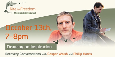 Drawing on Inspiration - A Recovery Conversation with Philip Harris tickets