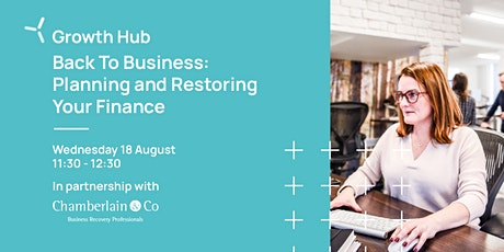 Back To Business: Planning and Restoring Your Finance  Webinar tickets