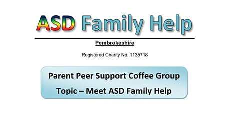 Parent/Carer Online Coffee Group - Pembrokeshire tickets