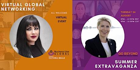 Virtual Global Networking Summer Extravaganza tickets