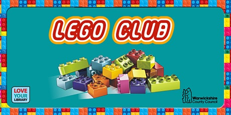 LEGO Club at Coleshill Library tickets