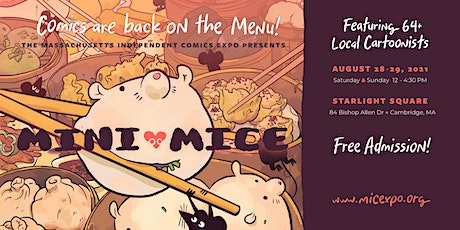 Mini-MICE: Presented by the Massachusetts Independent Comics Expo tickets