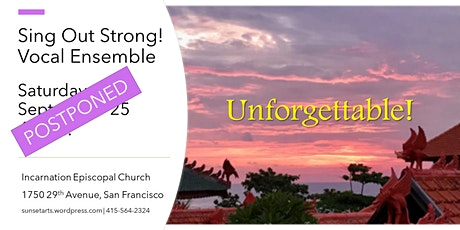 Unforgettable by Sing Out Strong! Vocal Ensemble tickets