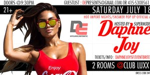 SATURDAY JULY 18TH | MODELS & BOTTLES hosted by DAPHNE...