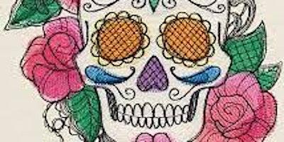 Colorful Calaveras Drawings