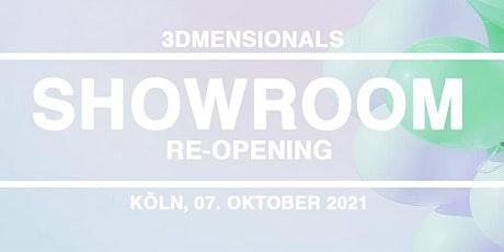3Dmensionals Showroom Re-Opening in Köln Tickets