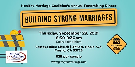 Building Strong Marriages - Healthy Marriage Coalition Fundraising Dinner tickets